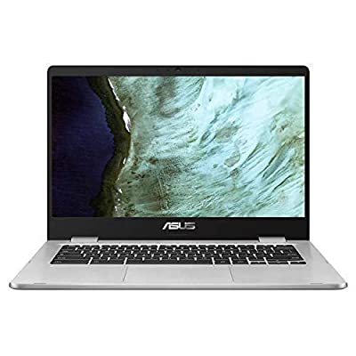 """2019 Newest Asus Chromebook 15.6"""" Full HD Touchscreen 1080p, Intel N4200 Quad-Core Processor 2.5GHz, 4GB RAM, 64GB Storage, Brushed Aluminum Chassis"""