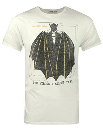 Junk Food Batman Strong and Silent Type Men's T-Shirt (Junk Food Batman)