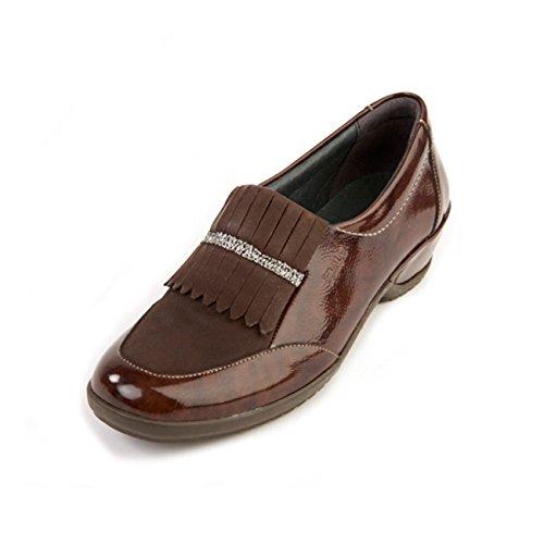 Washable Brown Women's Shoe Non Fit Diane Patent amp; Suave ee Wide E Removable slip Insole Sole FCzaqgSx