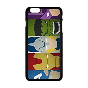 The Avengers Pattern Hot Seller Stylish Hard Case For Iphone 6 Plus