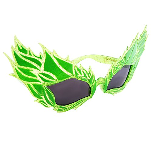 Sun-Staches Costume Sunglasses Poison Ivy Costume Party Favors UV400 -