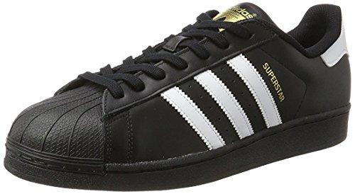adidas Superstar Foundation, Zapatillas Unisex infantil negro y blanco