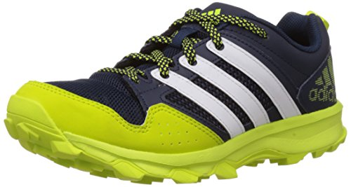 new concept 22766 c4cf2 weiss Niños Sintético Trail 7 Kanadia De Zapatos Navy Para Correr niñas  gelb Adidas Material Zz7wqn