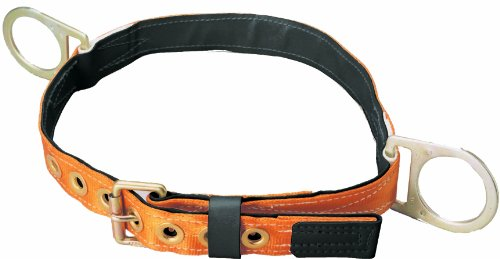 Miller Titan by Honeywell T3020/XLAF Tongue Buckle Body Belt with Side D-Rings, X-Large - Miller Body Belts