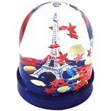 Les parisettes boule neige tour eiffel ville amazon for Mini aquarium boule