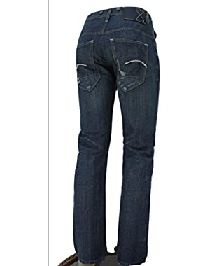 G Star Essentials RE Morris Tapered Jeans in 3D Aged Conn Denim, W31/L32 $399