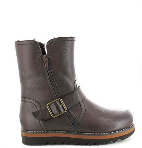 Shoes Sandales Ella Compensées Marron Femme dwRXqCax
