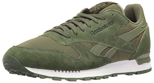 Reebok Wor Tech Top, T-Shirt Herren Moss Green/Primal Green/Brown Calf