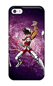 Hot Style YDYRAFF2178minYK Protective Case Cover For Iphone5/5s(legendary Saint Seiya Desktop Background)