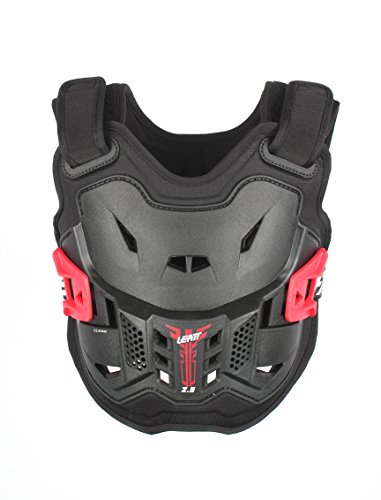 Leatt 2.5 Chest Protector (Black/White, Kids)