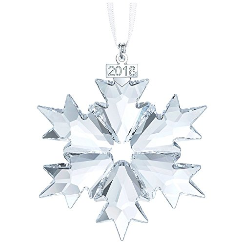 Swarovski Annual Edition Ornament 2018 Christmas, (Crystal Ornaments)