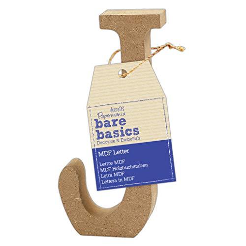 MDF Letter (1 Piece) – Bare Basics – J