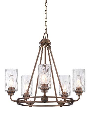 (Designers Fountain 87185-OSB Gramercy Park 5 Light Chandelier)