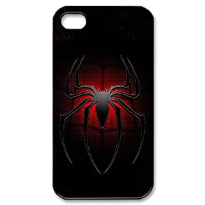 Generic hard plastic Spider-Man Logo Cell Phone Case for iPhone 4 4S Black ABC8354595