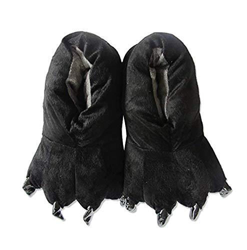 Unisex Animal Paw Claw Home Warm Slippers Cozy