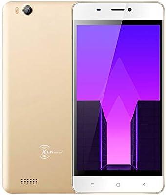Smartphone Libre de 4.5 Moviles Ken XIN DA V6, Android 7.0 Phone Dual Sim Teléfonos móviles desbloqueados, 3G Android Cellphone 4.5 Pulgadas, Quad Core 1g / 8g GPS WiFi Teléfono Celular (Oro): Amazon.es: Electrónica