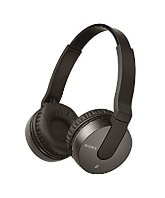 Sony MDR-ZX550BN Noise Cancelling Bluetooth Headphone - Black (International Version)