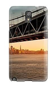 Lucila Cruz-Rodrigues's Shop Perfect Tpu Case For Galaxy Note 3/ Anti-scratch Protector Case (downtown Bay Bridge Sa)