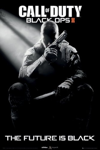 """Price comparison product image Call Of Duty: Black Ops II - Gaming Poster / Print (Game Cover) (Size: 24"""" x 36"""") (By POSTER STOP ONLINE)"""