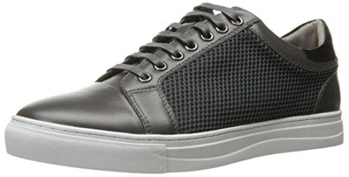 Inglese Lavanderia Mens Devons Moda Sneaker Grigio