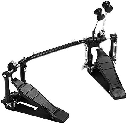プロフェッショナルドラムダブルペダルベースのデュアルフットキックペダルパーカッションセットシングルチェーンドライブ 楽器パーツ
