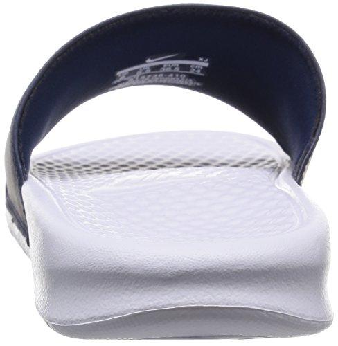 Infradito Navy White Midnight Benassi Nike JDI Mismatch Uomo HWwtxYvq