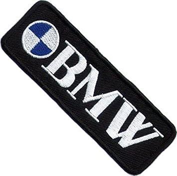 BMW Moto motard Écusson brodé Patch à coudre ou thermocollant 3.7 cm x 10.9  cm 90f2c87b68b