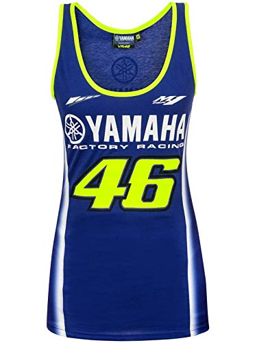 Valentino Rossi Yamaha Blue-Yellow Vr46 Dual Logo Womens for sale  Delivered anywhere in USA