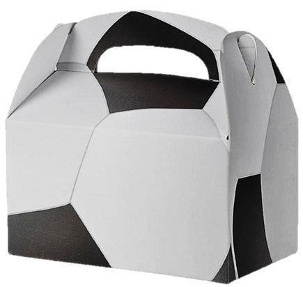 Party Favor Treat Boxes - Play Kreative TM (Soccer Party Treat)