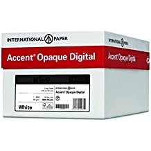 Accent Opaque, Super Smooth White 24lb / 60lb, 13 x 19, 97 Bright, 2,000 Sheets / 4 Ream Case, Made in The USA