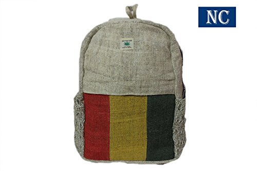 Nepali Handmade Hemp Backpack Laptop product image