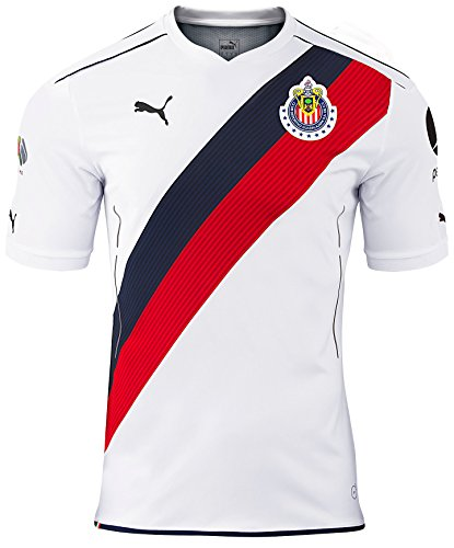 Puma Chivas AWAY 2016/17 Replica Jersey-WHITE (S)