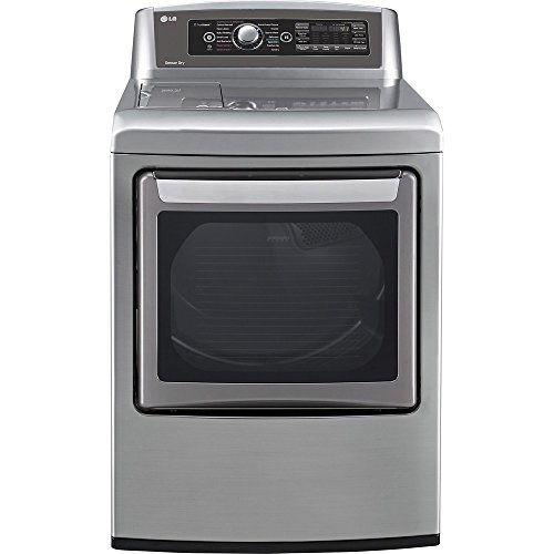 """LG DLEX5780VE 27"""" Electric Steam Dryer with 7.3 cu. ft. Capa"""