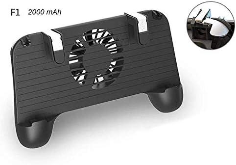 XHMCDZ パワーバンク付きモバイルゲームコントローラーゲームパッド - 安い、ディスカウント価格PUBGのための携帯用冷却ファン超携帯用ハンドルグリップホルダーシュートと照準器 (Size : 4000mAh)