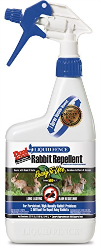 Liquid Fence Dual Action Rabbit Repellent Ready-to-Use2, 32-Ounce