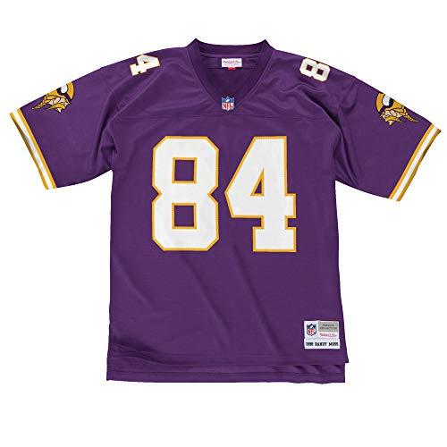 370031b6 Mitchell & Ness Minnesota Vikings Randy Moss #84 Legacy Jersey, Purple,  X-Large