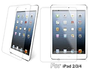 Delivery Time 20-30 Days 0.33mm Tempered Glass Screen Protector for iPad 2/3/4 (Transparent)