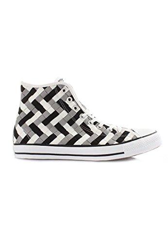 Converse Mens Mandrin Taylor Tout Étoiles Tissé Haut Haut Sneaker Mode Baskets Dauphin / Noir