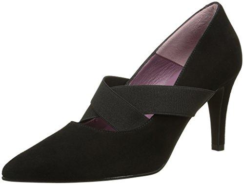Studio Paloma 19960, Women's Court Shoes Noir (Ante Black)