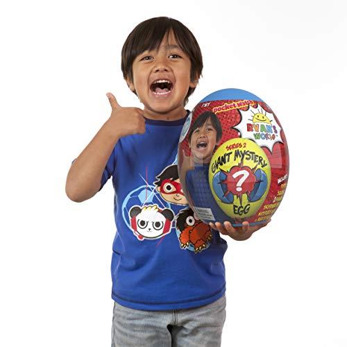 Ryan's World Giant Mystery Egg - Series 2 Toy, Blue