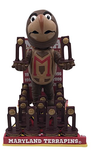 Forever Collectibles Maryland Terrapins NCAA Lacrosse National Champions Bobblehead by Forever Collectibles