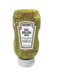 Heinz Dill Relish, Squeeze Bottle, 12.7 oz