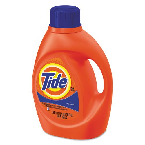 Tide Liquid Laundry Detergent, Original Scent, 3.1 qt. Bottle - four 3.1-quart bottles per case. by Tide