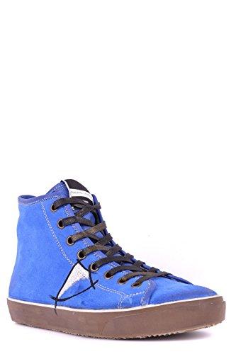 Suède Mcbi238025o Model Homme Philippe Montantes Bleu Baskets 6q8TnxF7
