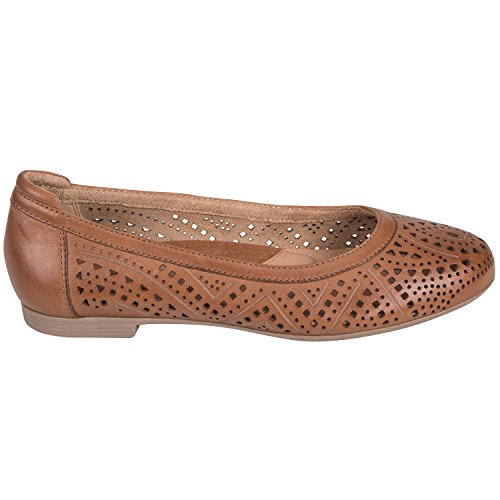 Earth Royale Brown Womens Ballet Flat Sand rqrw5g7xX