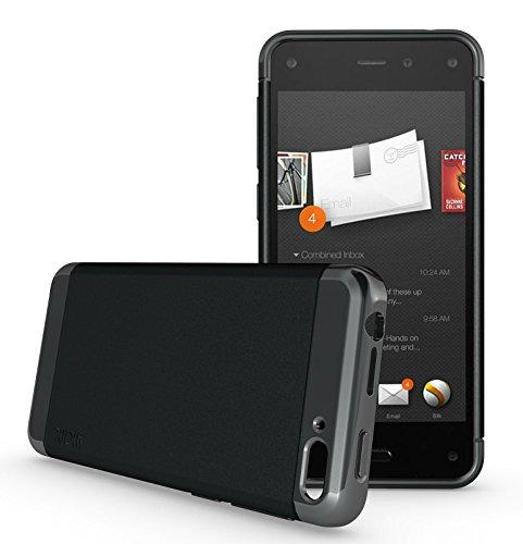 TUDIA LITE TPU Bumper Protective Case for Amazon Fire Phone (Black)