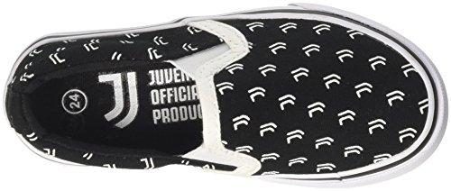 az 110 Shoes Juventus kids S19020 Slip nero Noir Garçon On nvPpzPxW
