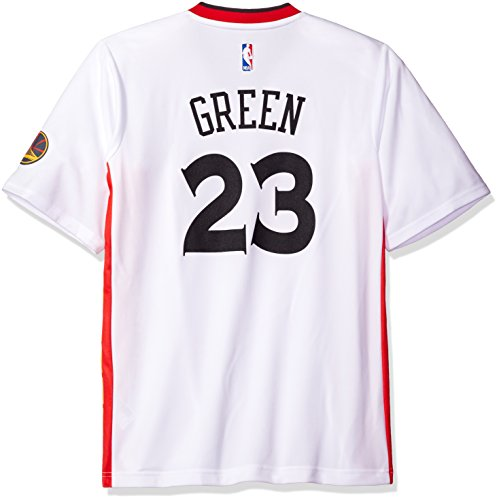- NBA Men's Golden State Warriors Draymond Green Replica Player Stretch Jersey, 4X-Large, White