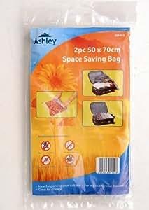 Bolsas Enrollables al Vacío para Viajes 50cm x 70cm Pack de 2 (DB403)