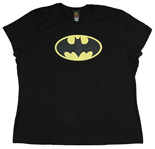- Bioworld Men's Batman Short Sleeve T-Shirt, Classic Black, 2XL